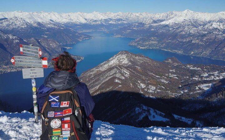 escursione panoramica monte san primo