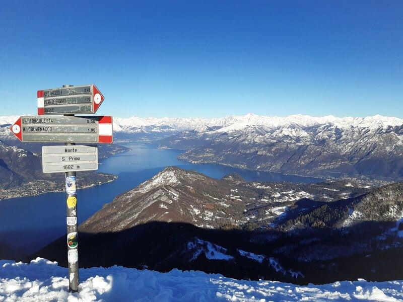 trekking Monte San Primo