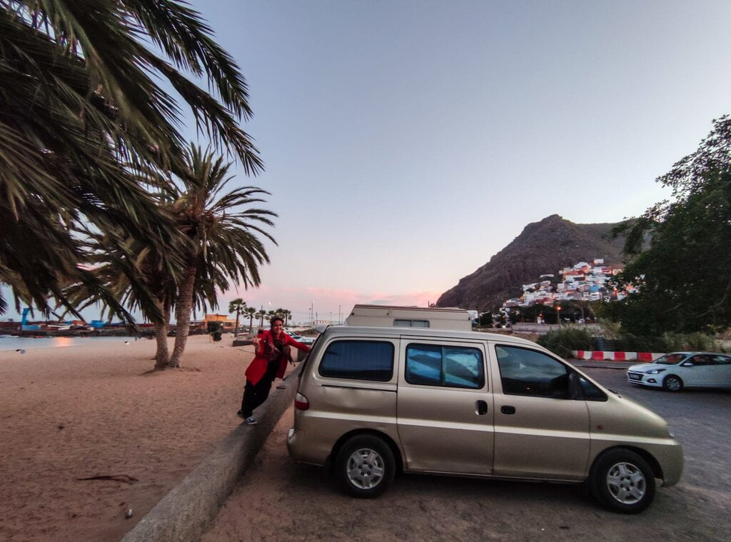 viaggio in van - Tenerife