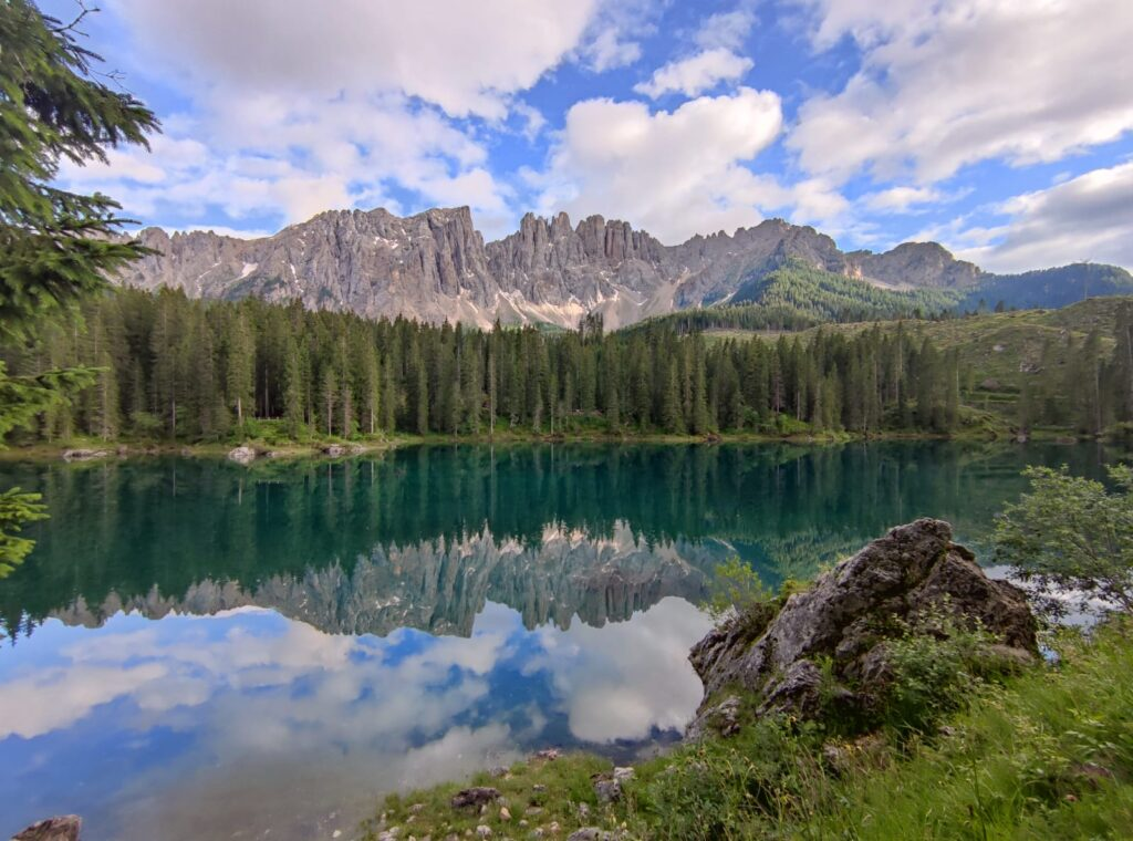Latemar e Lago di Carezza