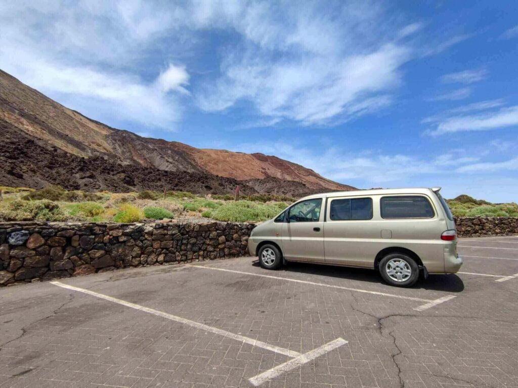 Viaggio in Van a Tenerife