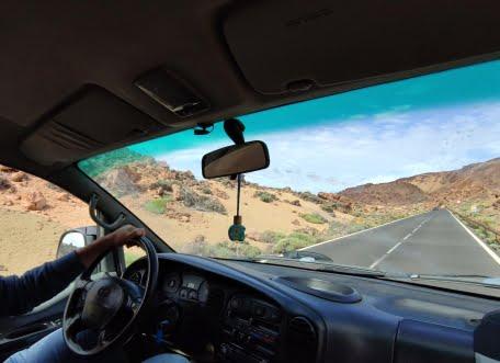 viaggio in van Tenerife Teide